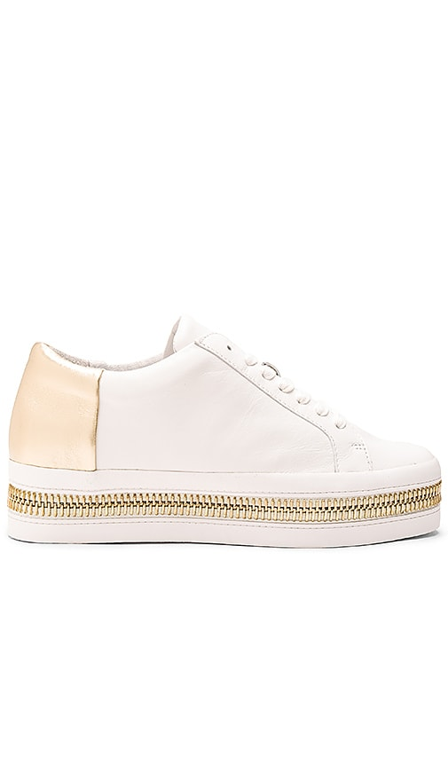 RACHEL ZOE Collette Sneaker in White