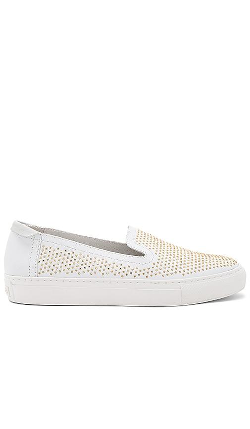 RACHEL ZOE Burke Sneaker in White