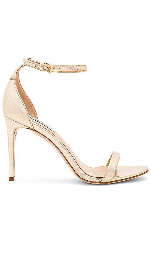 RACHEL ZOE Ema Heel in Metallic Gold