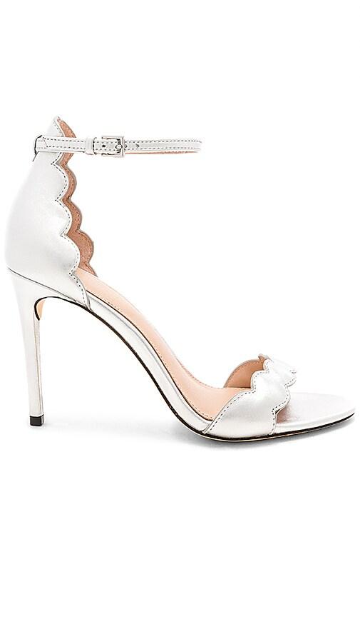 RACHEL ZOE Ava Sandal in Metallic Silver