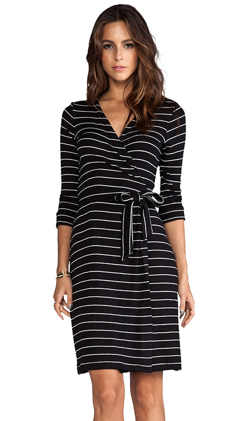 Moby Dylana Stripe Wrap Dress