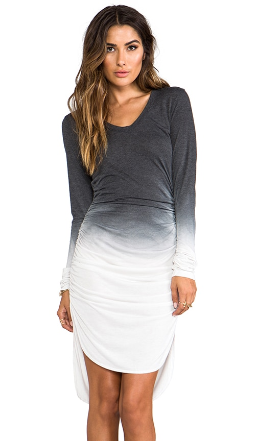Rayon Jersey Amelie Ruched Dress