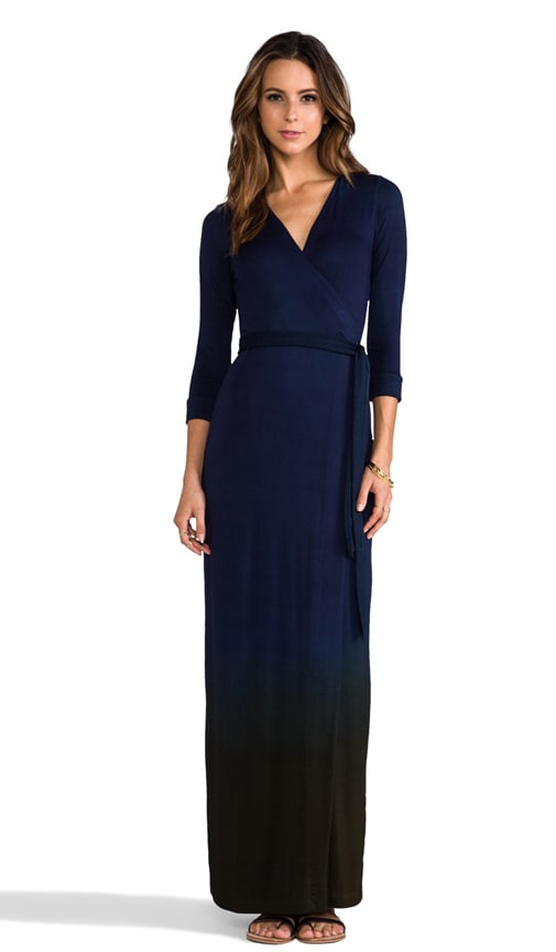 Celine Maxi Wrap Dress