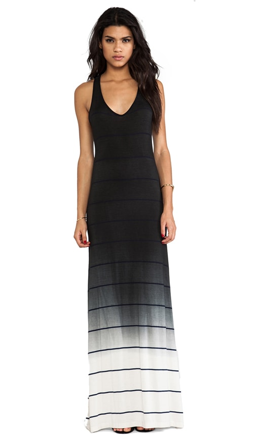 Bryn Ombre Stripe Jersey Dress