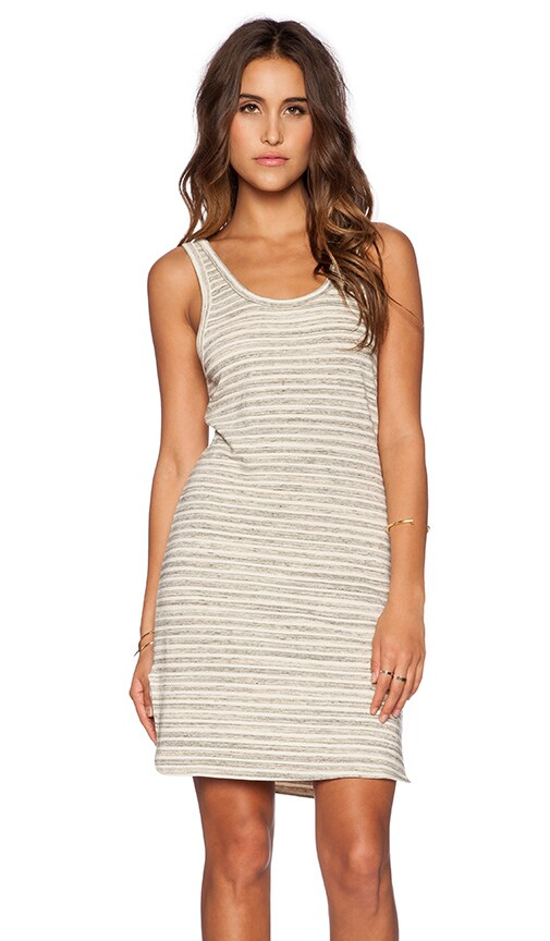 Saint Grace Bonita Mini Dress in Cream Stripe