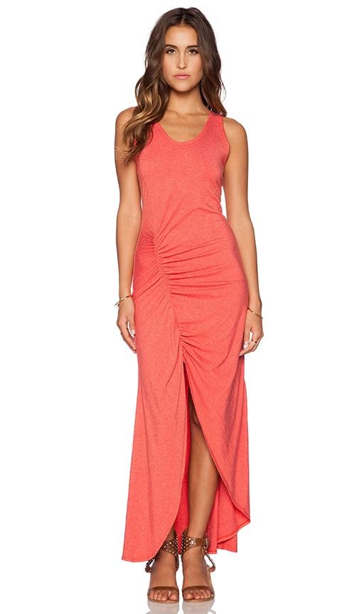 Saint Grace Gita Maxi Dress in Coral