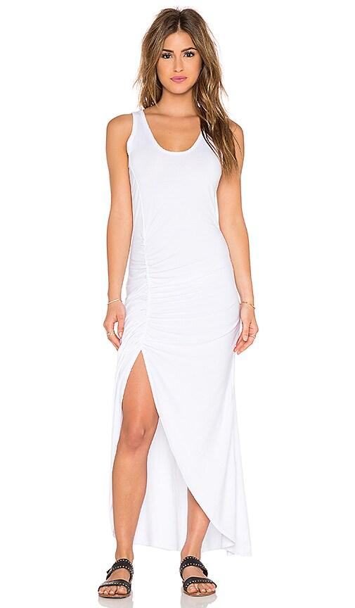 Saint Grace Gita Maxi Dress in White