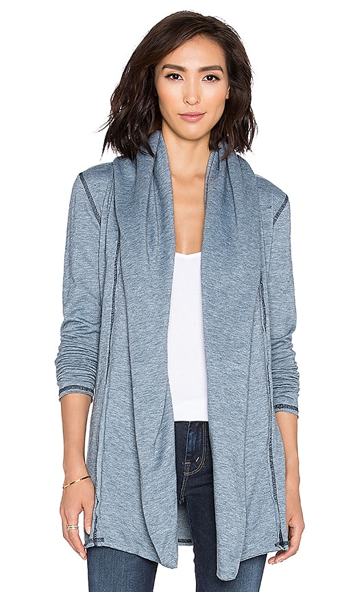 Saint Grace Hooded Cardigan in Night