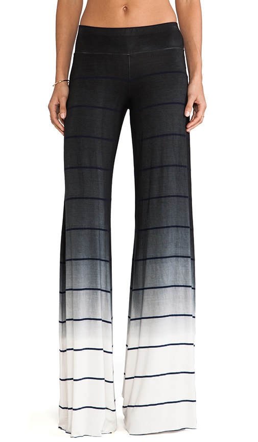 Wide Pant Ombre Stripe