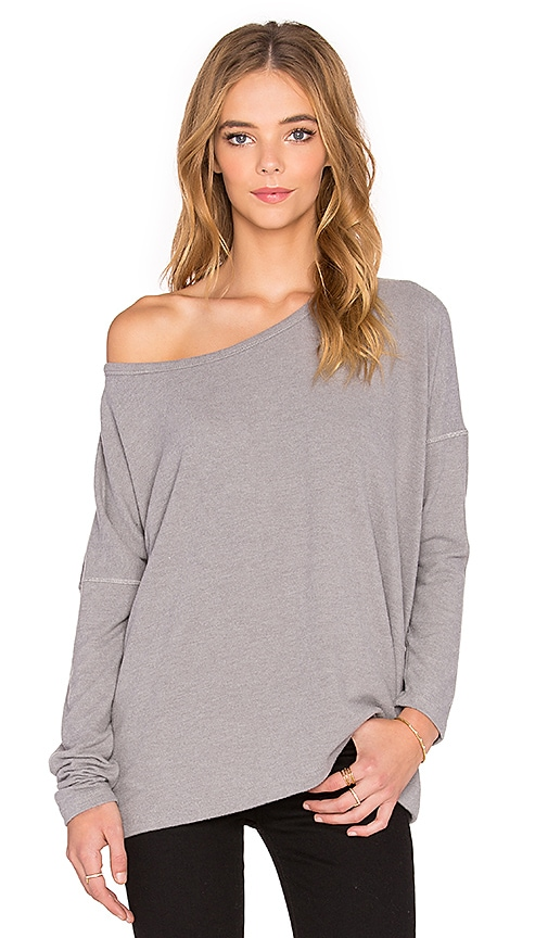 Saint Grace Omega Top in Heather