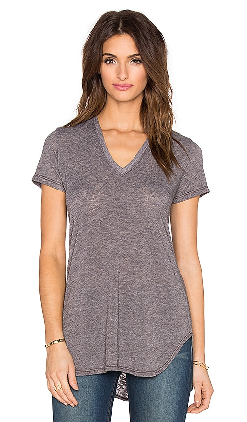 Saint Grace Lax Oversized Tee in Espresso