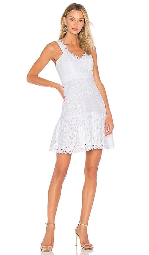 SALONI Zita Dress in White