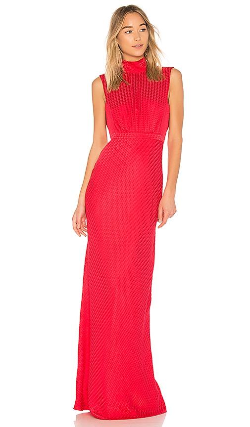 SALONI Fleur Dress in Red