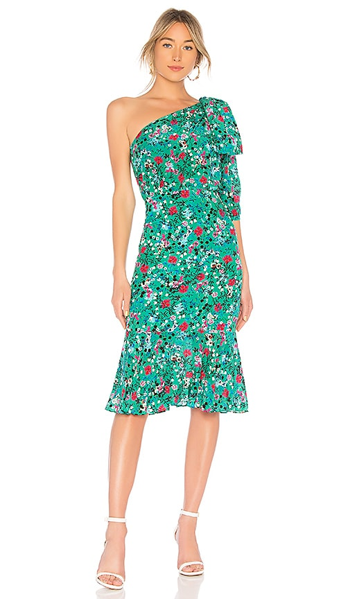 SALONI Juliet Dress in Green