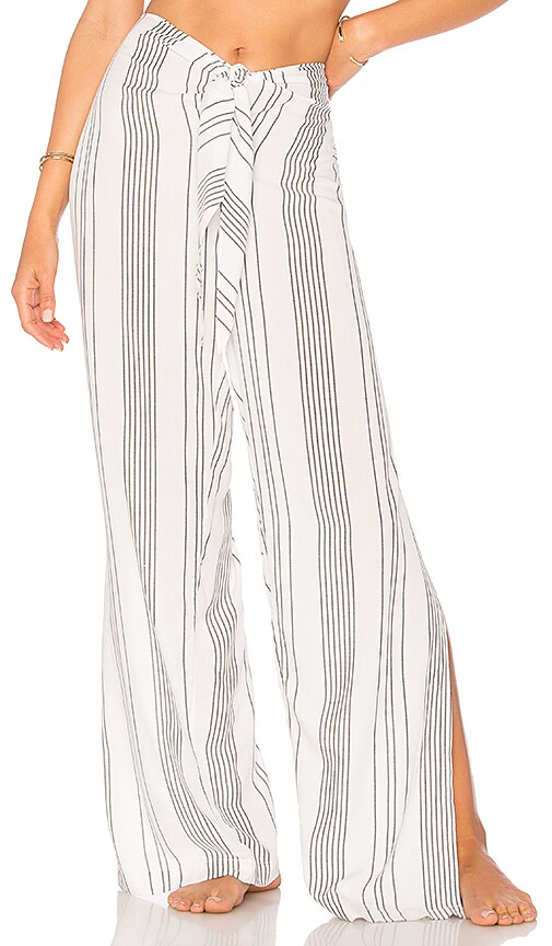 Salinas Cover Up Pant in White