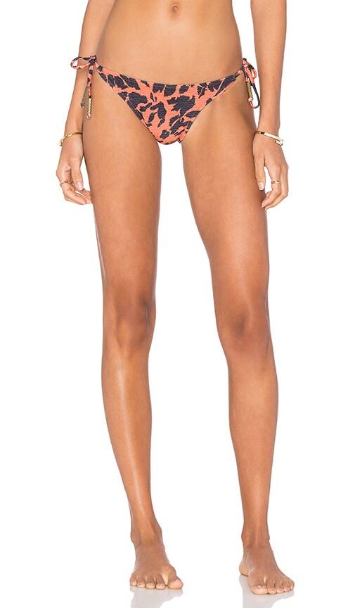 Salinas Side Tie Bikini Bottom in Orange