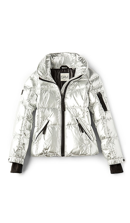 SAM. Freestyle Jacket in Metallic Silver