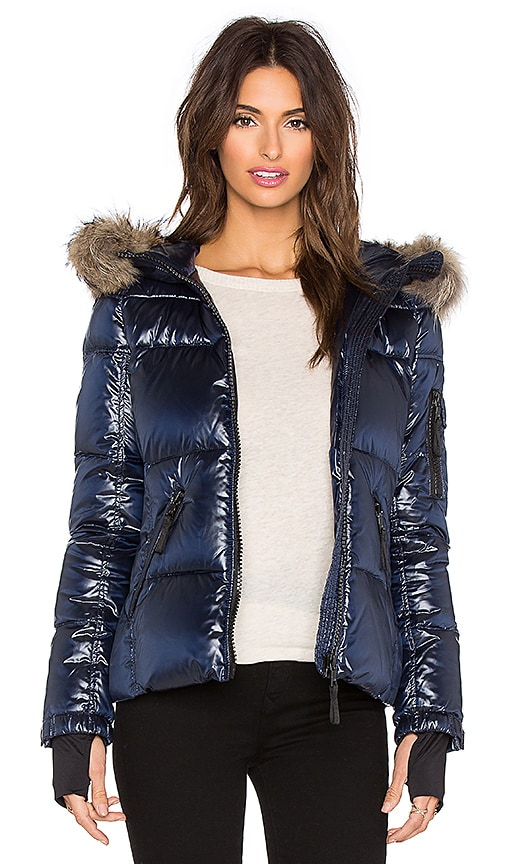 5292770ca8f5 SAM. Blake Fur Jacket in Midnight