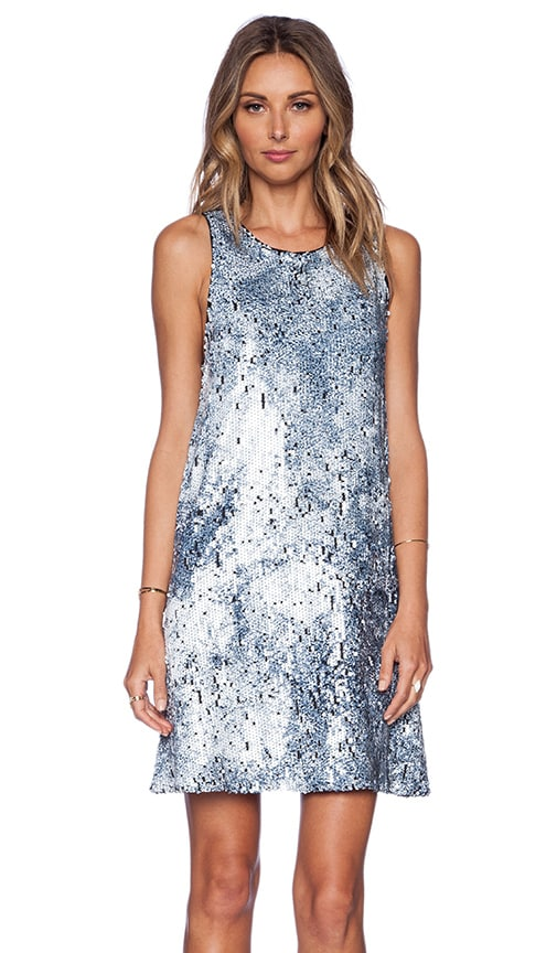 Sam Edelman Sequin Dress in Midnight
