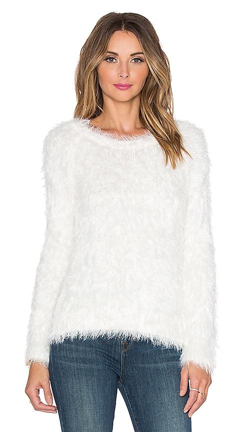 Sam Edelman Eyelash Sweater in Ivory