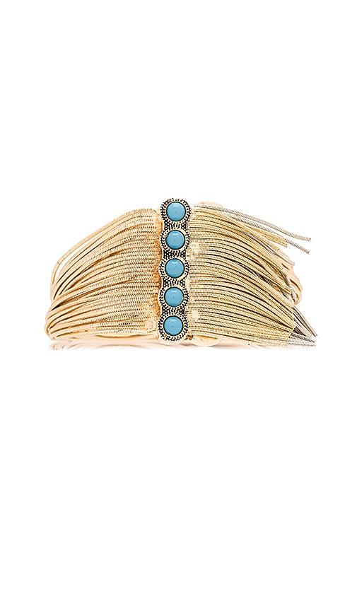 Sam Edelman Fringe Bracelet in Two Tone