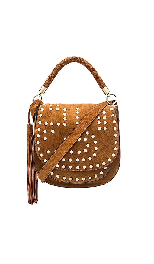 Sam Edelman Heidi Saddle Bag in Tan