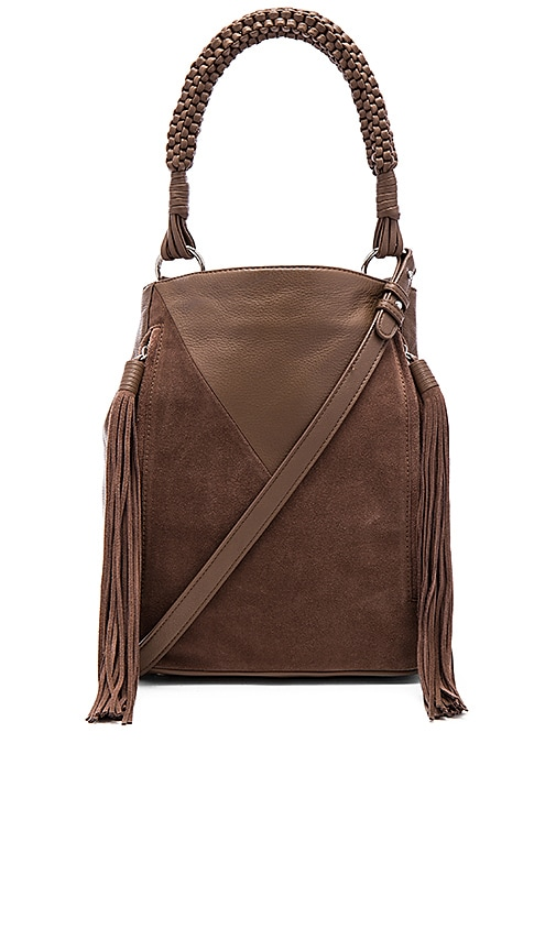 Sam Edelman Monica Bucket Bag in Taupe