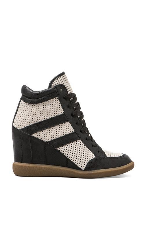 801da43e6a21 Sam Edelman Bolton Sneaker in Snow White   Black