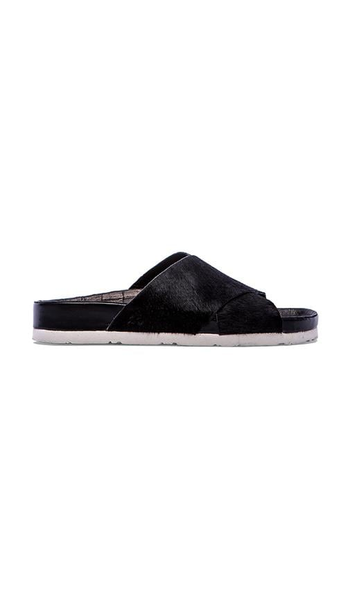 Adora Sandal with Calf Fur