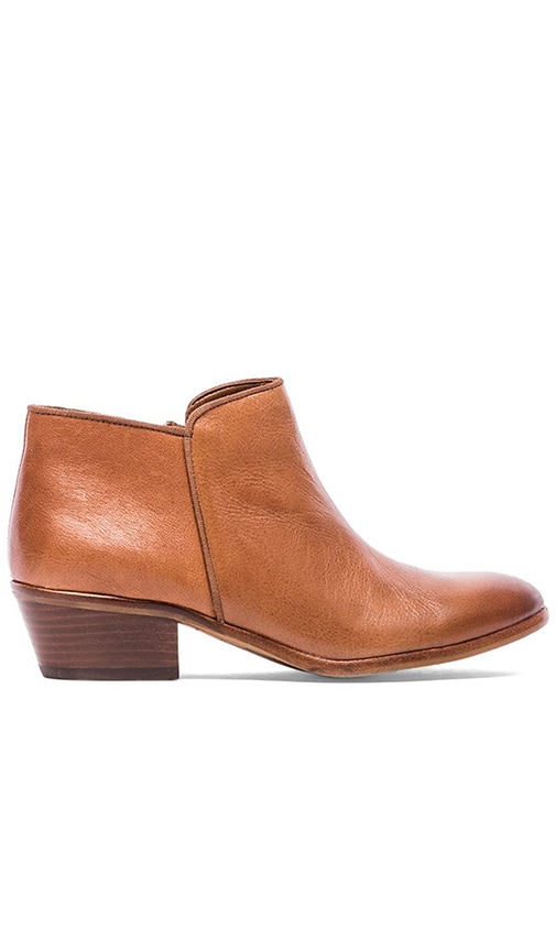 8ccf5e639 Sam Edelman Petty Bootie in Deep Saddle Vintage Leather