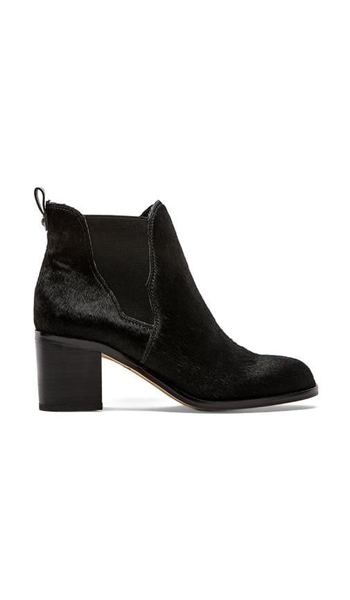 Justin Bootie with Calf Fur