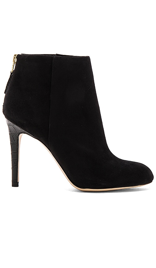 Sam Edelman Kourtney Bootie in Black Suede