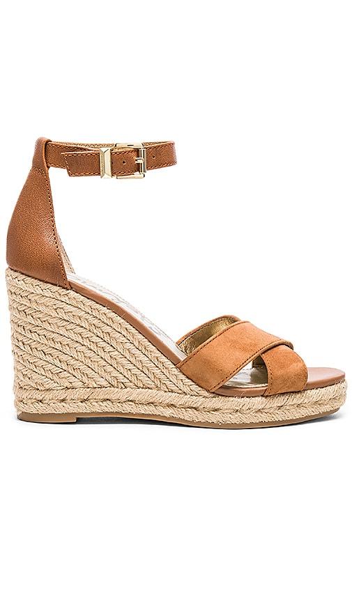 Sam Edelman Brenda Wedge in Saddle