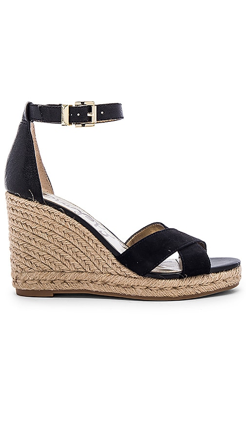 Sam Edelman Brenda Wedge in Black