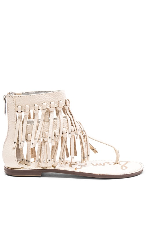 Sam Edelman Griffen Sandal in Modern Ivory Leather