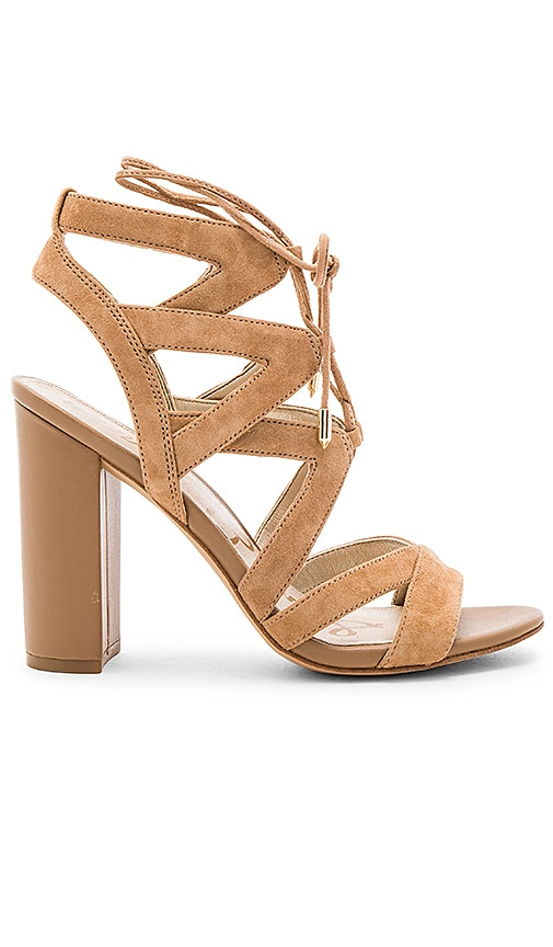Sam Edelman Yardley Heel in Tan