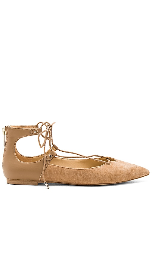 Sam Edelman Rosie Flat in Tan