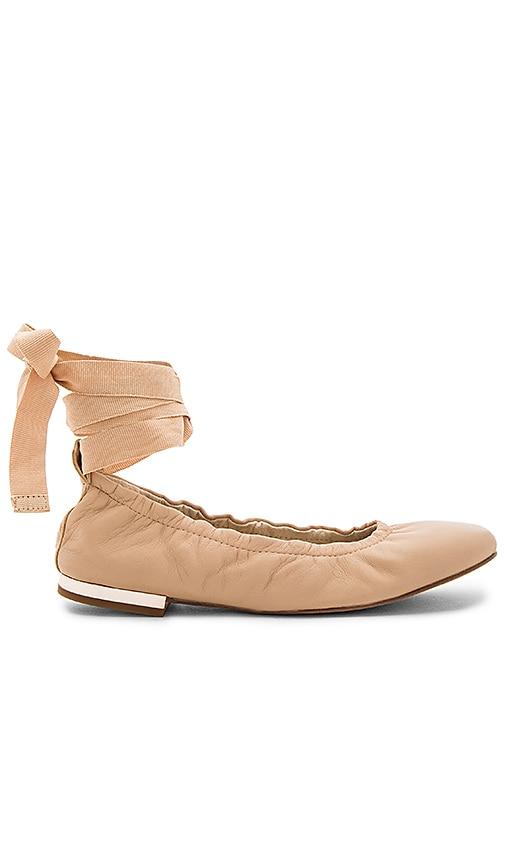Sam Edelman Fallon Ballet Flat in Nude