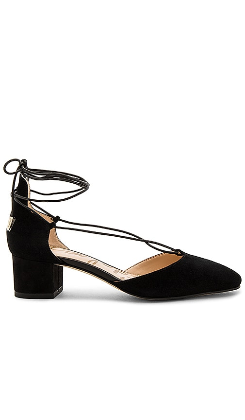 Sam Edelman Loretta Heel in Black