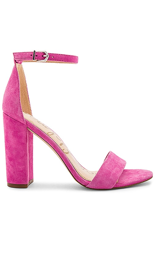9f2a6a5989a6c Sam Edelman Yaro Heel in Hot Pink