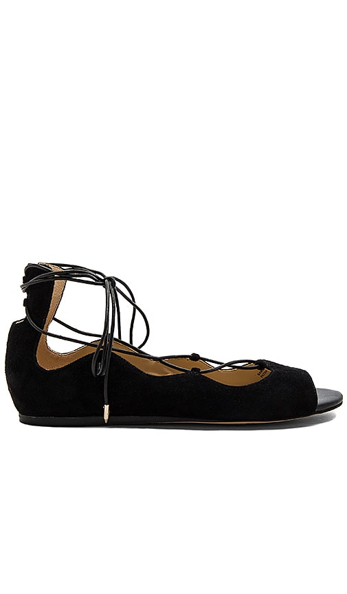 Sam Edelman Barbara Flat in Black