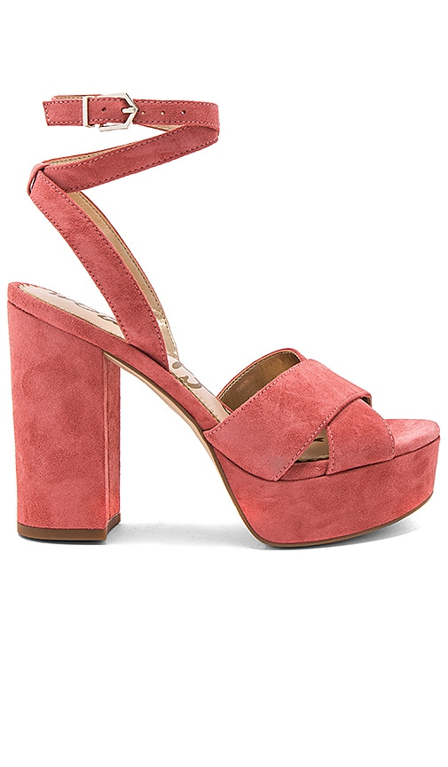 Sam Edelman Mara Heel in Rose