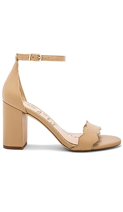 fad0070e71a84 Sam Edelman Odila Heel in Classic Nude Leather
