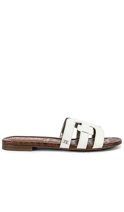 584a38429a116 Sam Edelman Bay Sandal in White Leather