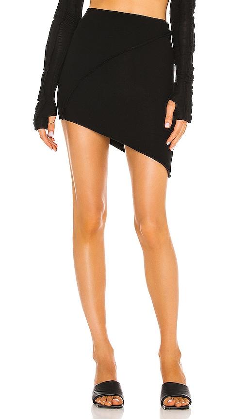 Sami Miro Vintage Mini skirts ASYMMETRIC MINI SKIRT