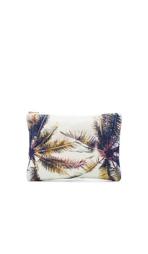 Twin Palms Flat Pouch