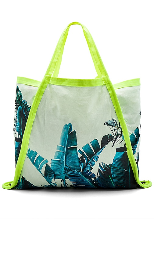 Samudra Asymmetrical Tote Bag in Blue