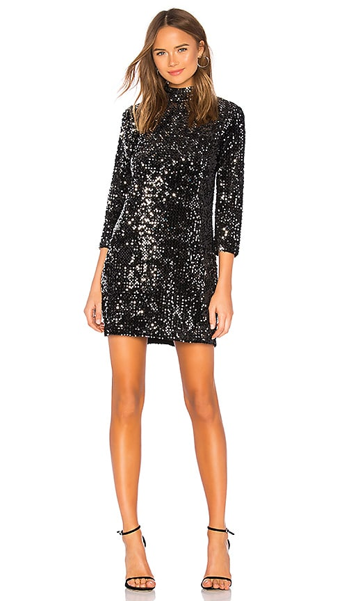 Keep Your Heads Up Sequins Shift Dress