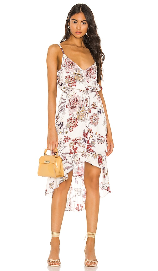 Palm Spring Button Front Dress