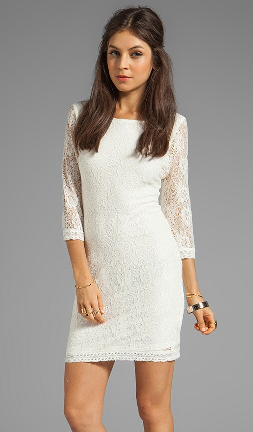 Provence Blues Lace Dress